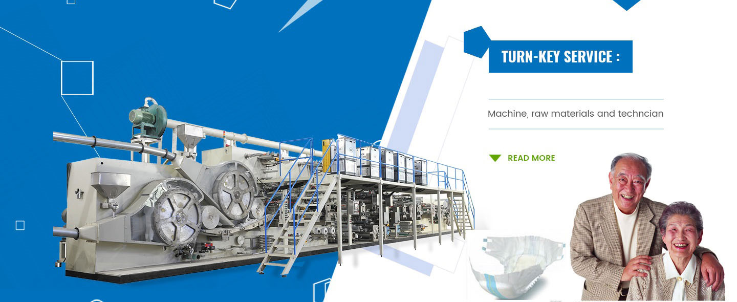 Diaper Making Machine Supplier